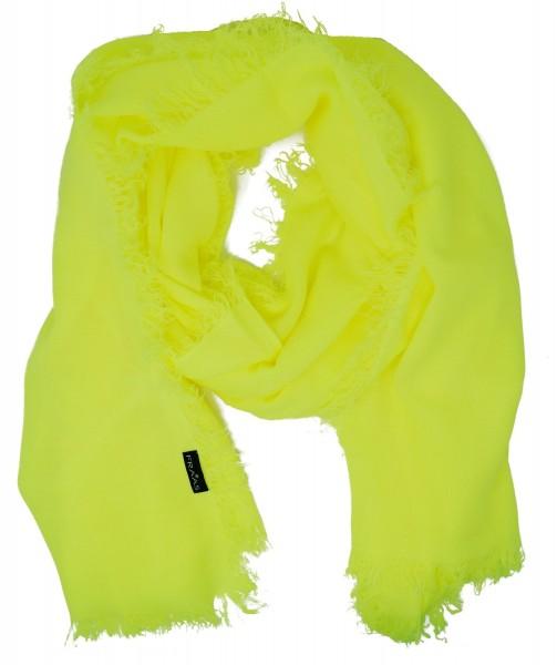 FRAAS Damen Schal 625124, neongelb, one size