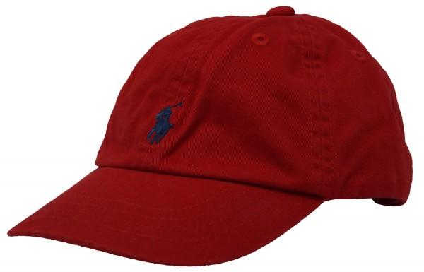 Ralph Lauren Polo Kinder Cap, Baseballcap, rot, 0-24 Monate
