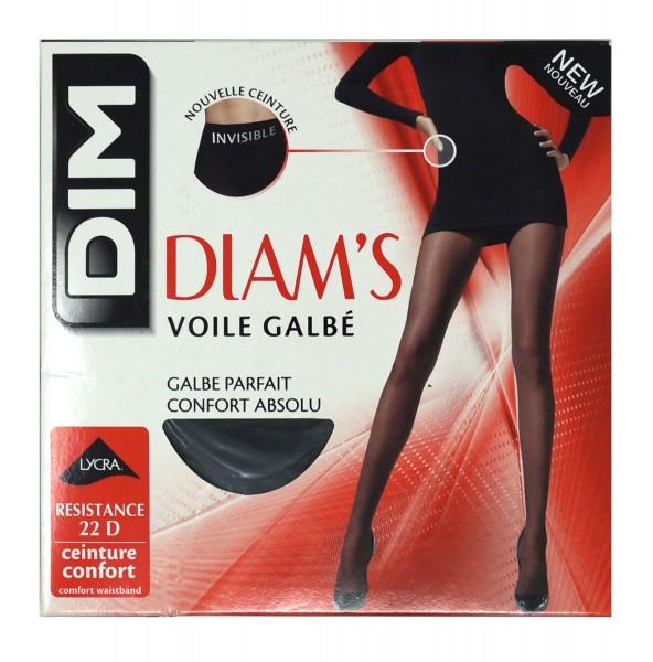 Dim Damen Strumpfhose Diam's Voile Galbé, 22 DEN
