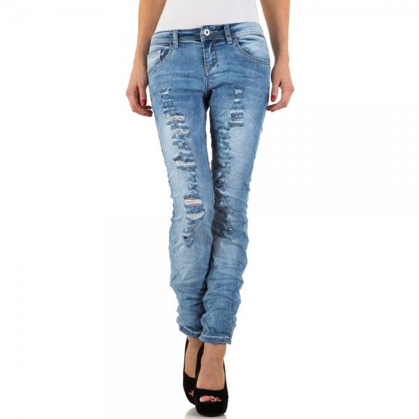 Damen Destroyed Jeans Used Look