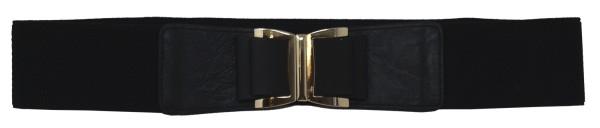 Molly Bracken Damen Taillen Gürtel SLS737E16, schwarz, Gr. 80