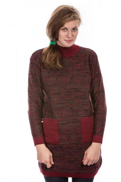Pullover Longshirt Kleid One Size verschiedene Farben