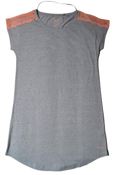 BeeDees Damen Nachthemd BeeSweet HW 2160 NDK, grau, Gr. XL