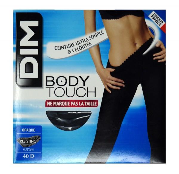 """Dim Damen Strumpfhose """"Body Touch"""", 40 Den, extraweicher Bund, Gr. 3, dunkelgrau"""