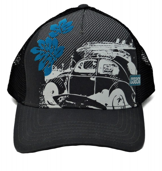 Coastal Trucker Cap Beetle, one size, schwarz (charcoal)