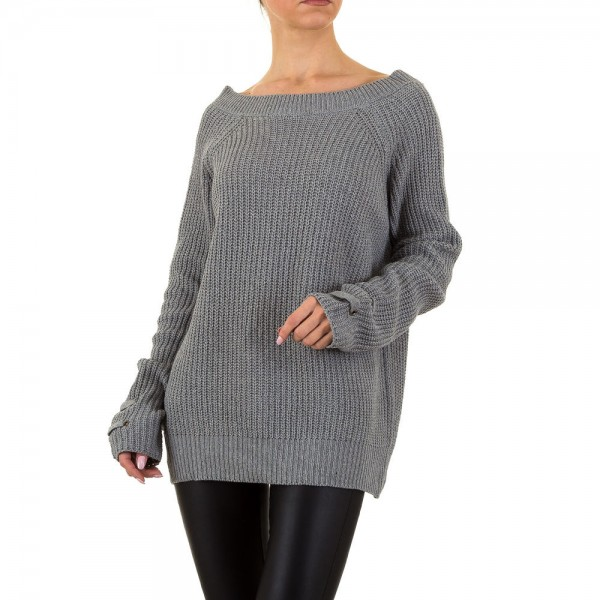 Oversize Strick Pullover One Size